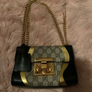Gucci mini chain bag
